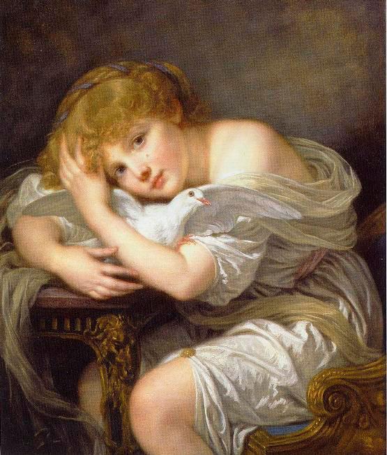 Helnwein Child: Jean Baptiste Greuze, Jeune Fille